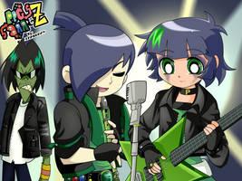 ButchxBelladonna- Green Music by BiPinkBunny