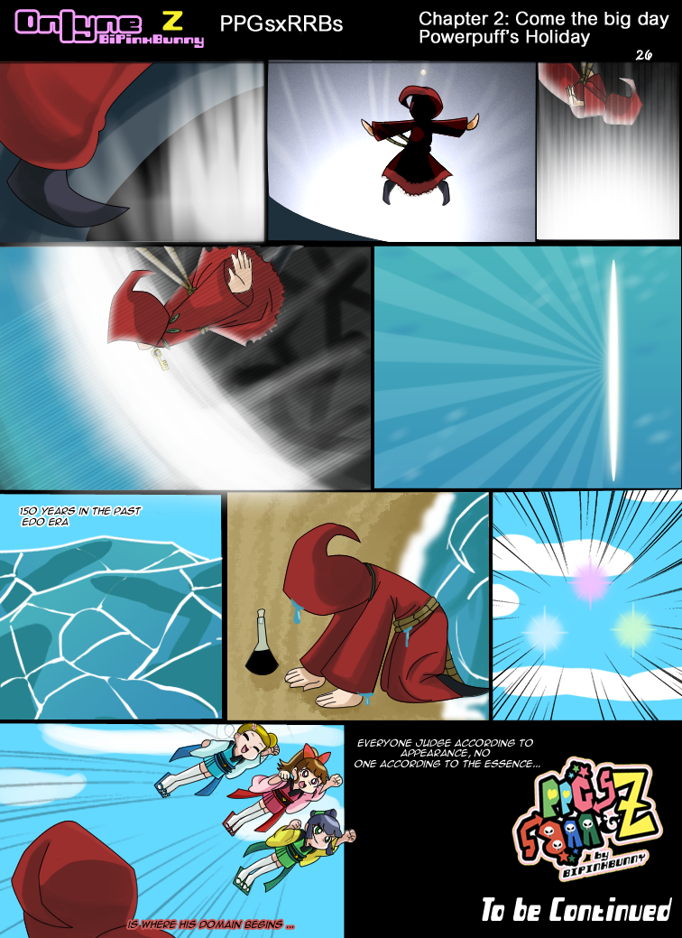 onlyne z chap 2 powerpuff holiday pag 26 end by bipinkbunny on