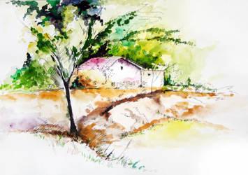 landscape by mousumidutta