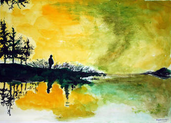 landscape 2 by mousumidutta