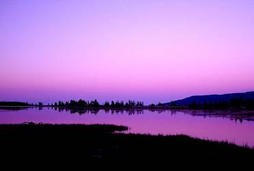Sunset In Canada 4 by Hoodwinkstar