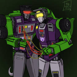 TF:G1 - Constructicon Bromance by LethitaIzzy