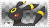 Umbreon Fan Stamp by Skymint-Stamps