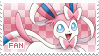 Sylveon Fan Stamp by Skymint-Stamps