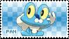 Froakie Fan Stamp by Skymint-Stamps