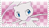 Mew Fan Stamp by Skymint-Stamps