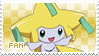 Jirachi Fan Stamp by Skymint-Stamps