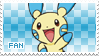 Minun Fan Stamp by Skymint-Stamps