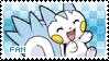 Pachirisu Fan stamp by Skymint-Stamps
