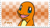 Charmander Fan Stamp by Skymint-Stamps