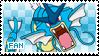 Gyarados Fan Stamp by Skymint-Stamps
