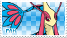 Milotic Fan Stamp by Skymint-Stamps