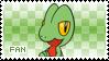 Treecko Fan Stamp by Skymint-Stamps