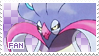 Malamar Fan Stamp by Skymint-Stamps