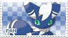 Meowstic Fan Stamp (Male) by Skymint-Stamps