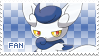 Meowstic Fan Stamp (Female) by Skymint-Stamps