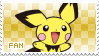 Pichu Fan Stamp by Skymint-Stamps