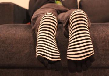 Toe socks by Yas1n42