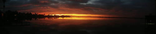 Sunset At The Lake 2 by Average-One