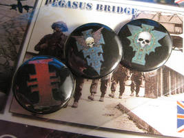 Inquisition Badges by ladyneron