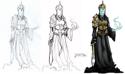 Nazgul Evolution by RubenFD