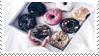 Stamp - Donut by diarysunflowers