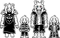 Asriel recreation + Storyswap Color by Papyron95