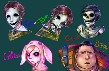 Wick's Antagonists by Jodankun
