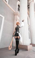 Final Fantasy Cosplay: Elezen by Kak-Tam-Ee