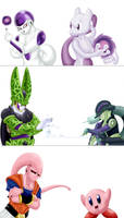 DBZ villains lookalikes each scarier than ze other by TheBadGrinch