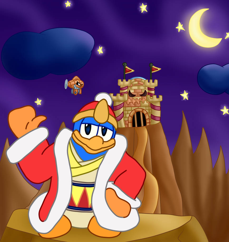 King Dedede [Cross-Style with Simobros17] by TheBadGrinch