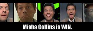 Misha is WIN by CharlieDaye