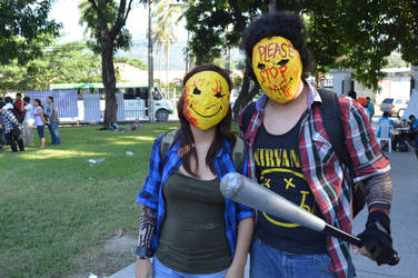 Cosplay Smileys Please stop me manhunt 2015 by devilalastar