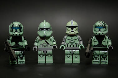 Custom Kashyyyk Troopers by Xero-Dubber