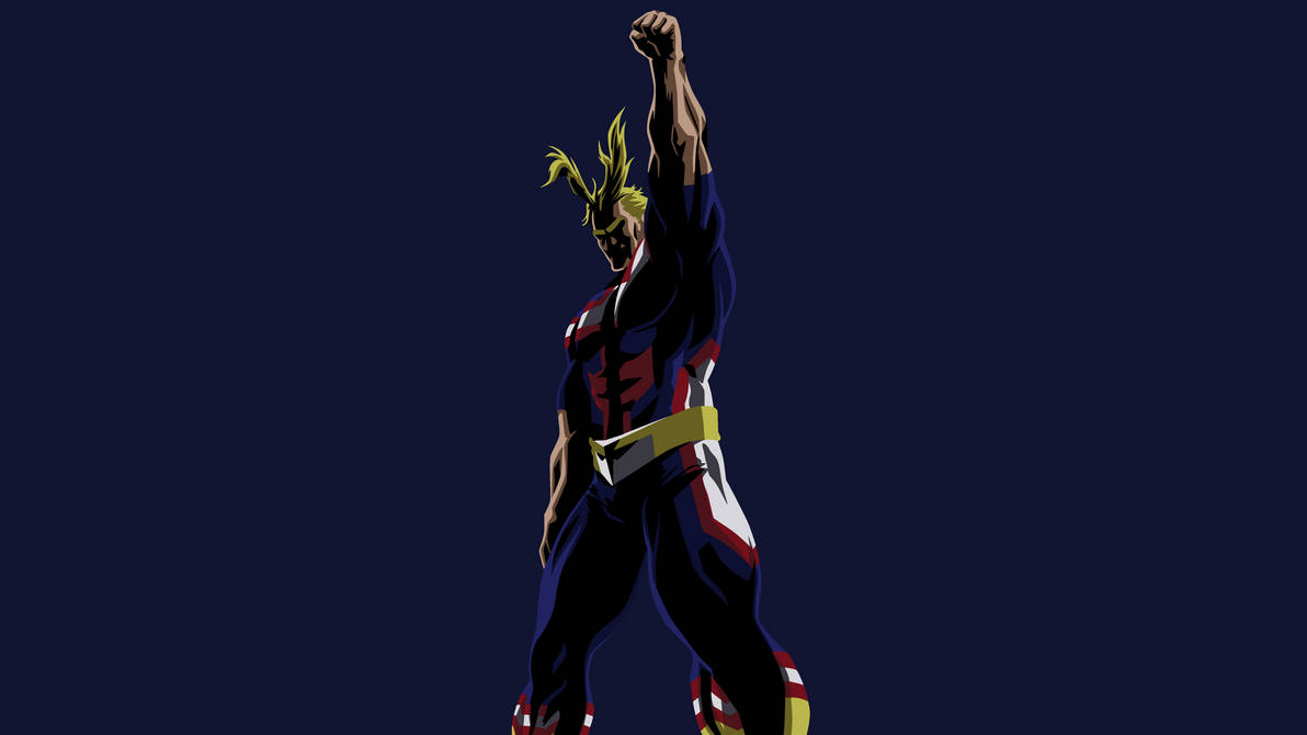 All Might Wallpaper by DamionMauville on DeviantArt