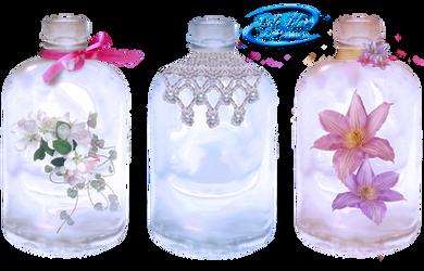 Decorative  bottles by lifeblue