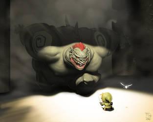 Ganon likes Link by RyuDan