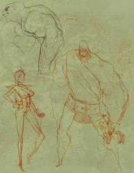 sketcheschesches again by RyuDan