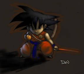 Mini-Goku by RyuDan