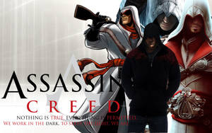 Assassins creed wallpaper 3 by ilikepie-123