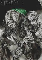 Hector Barbossa by FreedomforGoku