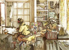 in a morning by asahinoboru