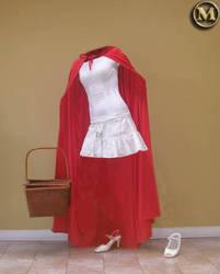 Little Red HIDING Hood by misterdoe