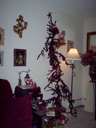 scanned-stock Christmas tree by scanned-stock