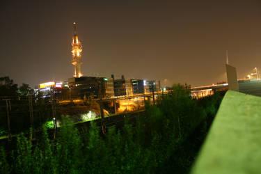 Pasila at Night by Vazde