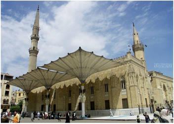 Al Hussein Mosque by Sanhoury