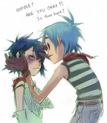 2D and Noodle by A-KAchen