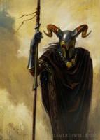 Dark Mage by alanlathwell