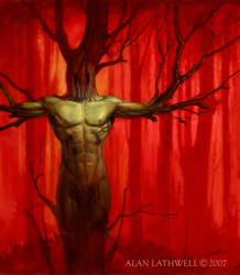 Tree Spirit by alanlathwell