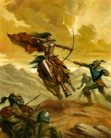 Orc Ambush by alanlathwell
